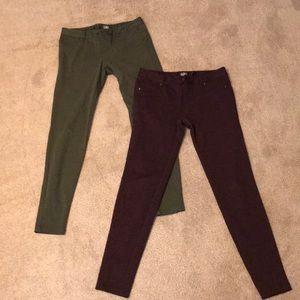 New York and Company Soho jeans ponte pants